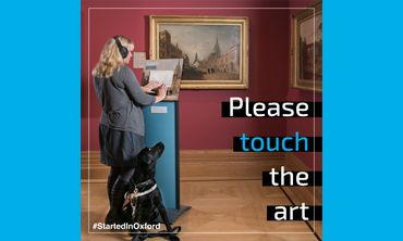 Please touch the art