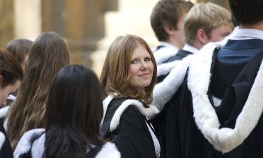 Oxford degree ceremony