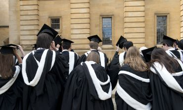 Degree ceremonies at Oxford