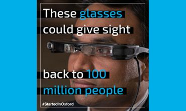 These glasses could give sight