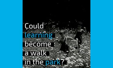 Could learning become a walk in the park?