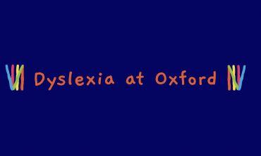 Dyslexia at Oxford banner