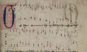 Image of a manuscript from Bodleian Libraries for Meet the Manuscripts event series