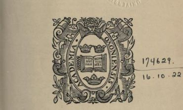Image of the cover of The University of Oxford Roll of Service