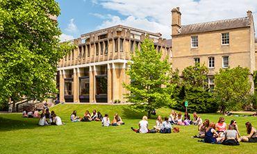 Students at Balliol College