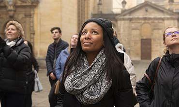 Visitors in Oxford