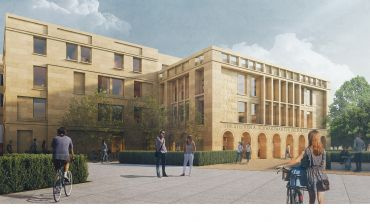The proposed design by Hopkins Architects