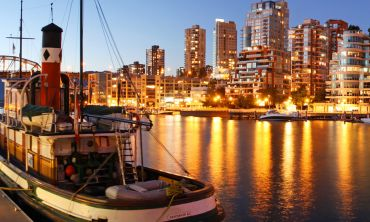 Boat in Vancouver harbour