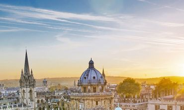 View over the rooftops of Oxford