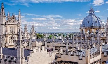 Spires of Oxford including the Bodleian and Radcliffe Camera