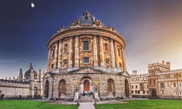 All Souls College, Radcliffe Camera and Brasenose College at dawn