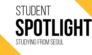 student spotlight banner: studying from seoul