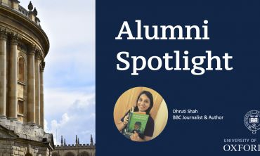 Alumni Spotlight: Dhurti Shah Banner