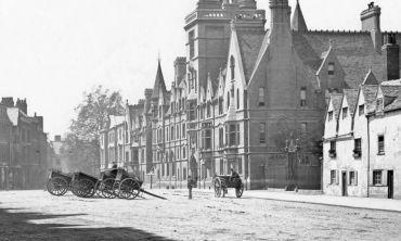 Balliol College, 1870s