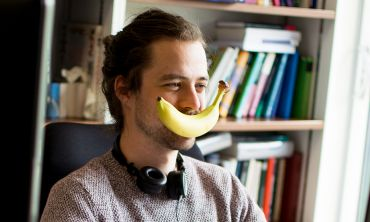 Student (with banana)