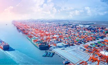 Using cutting-edge methodology, in which the daily movements of more than 100,000 maritime vessels were tracked