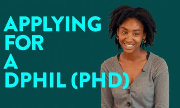 Applying for a DPhil