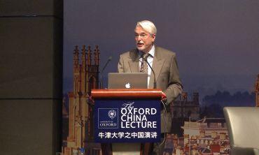 Oxford China Lecture 2013: The Future City