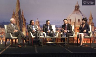Oxford China Lecture 2013: Q&A