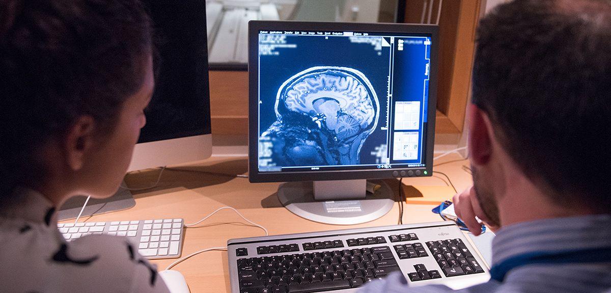 Brain scan imaging