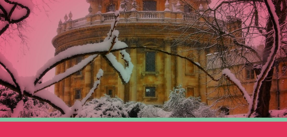 Rad Cam in the snow. Image Copyright © Oxford University Images, Photovibe