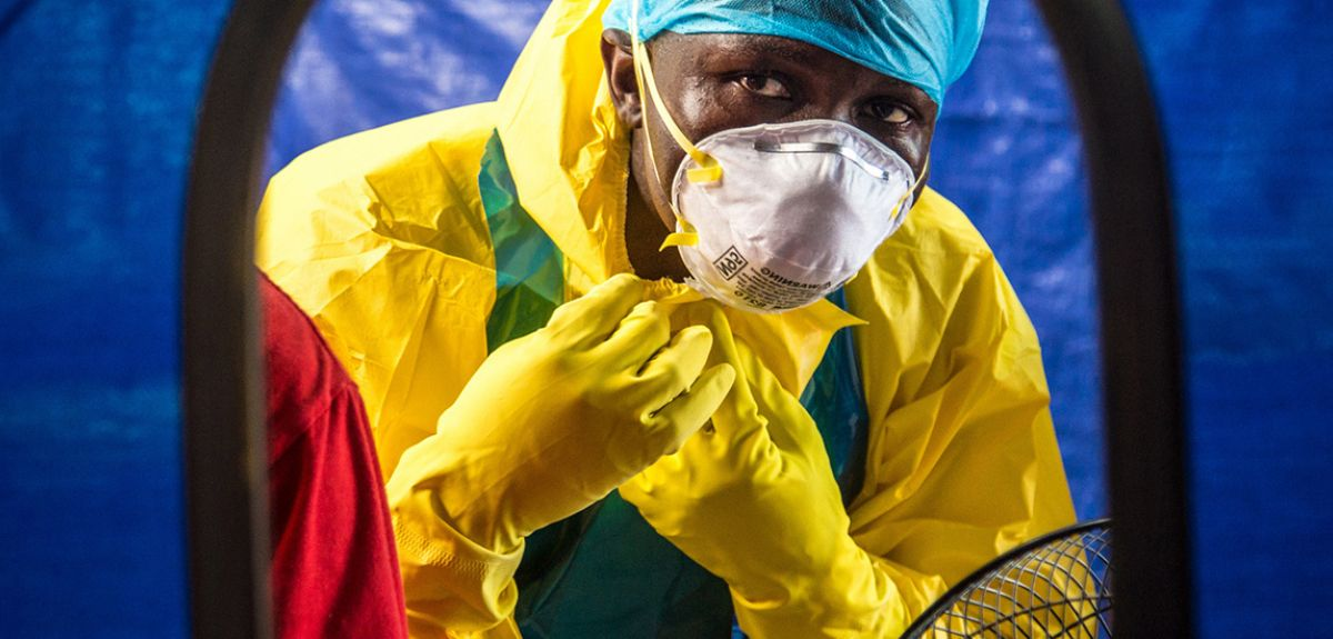 Ebola healthcare worker