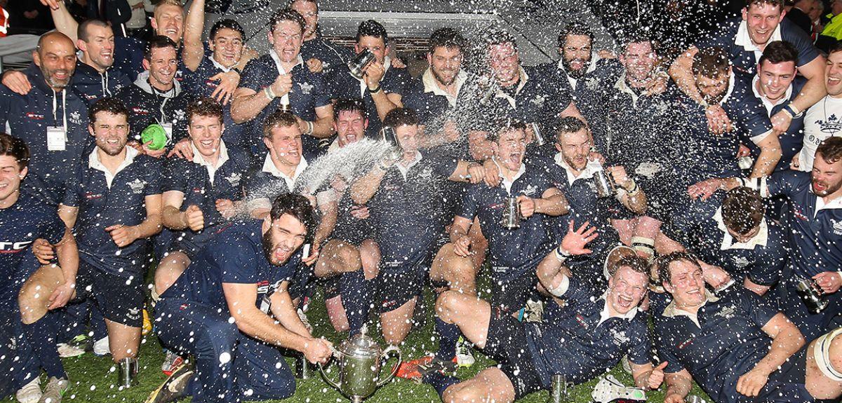 Oxford team celebrates