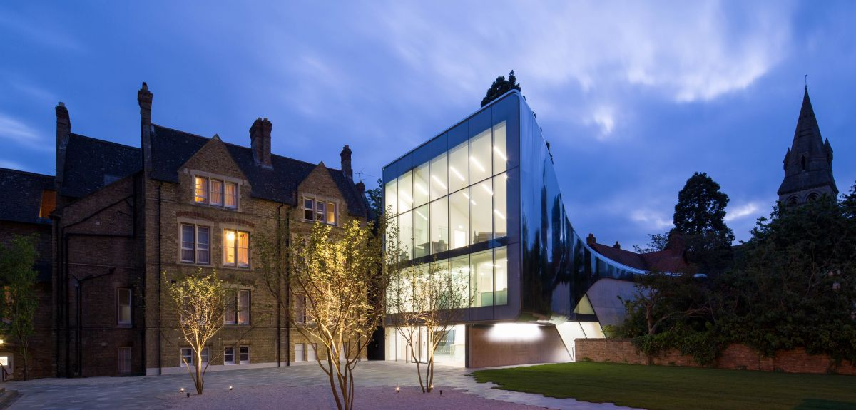 The Investcorp Building, Middle East Centre, at St Antony's College.