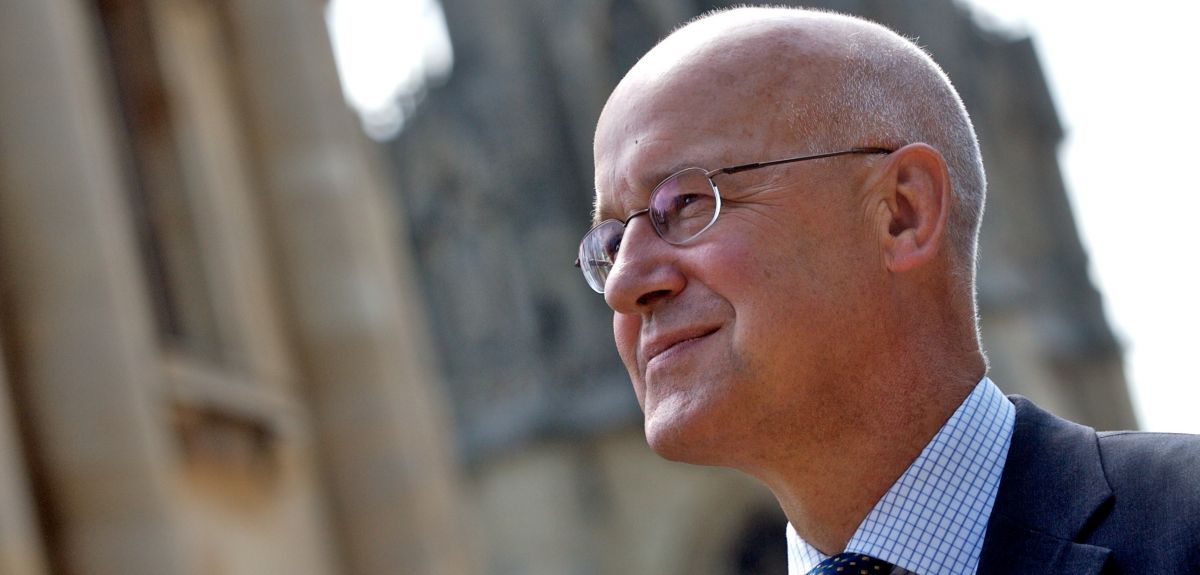 Professor Andrew Hamilton, Vice-Chancellor of Oxford University