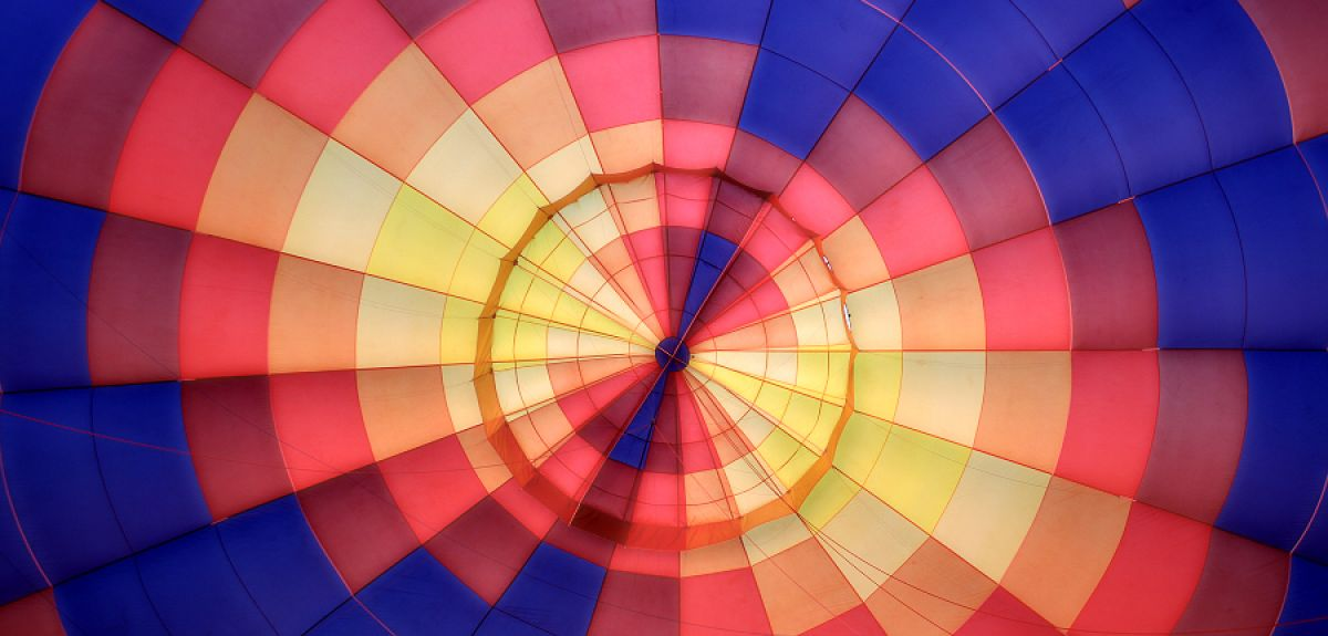A colourful descendant of the 18th century balloons
