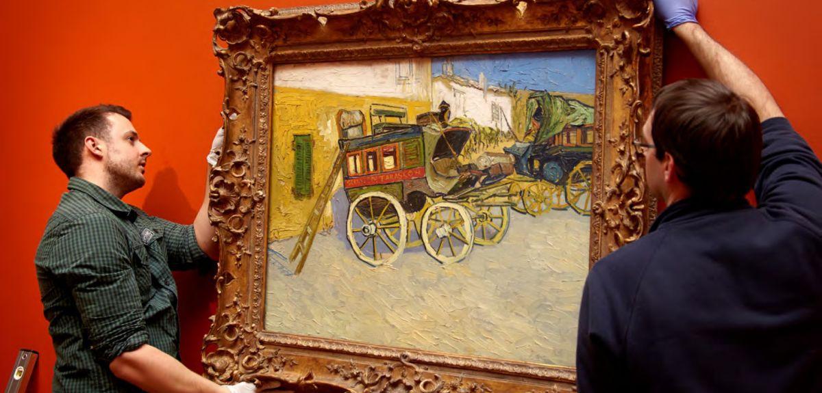 Vincent van Gogh – Tarascon Stagecoach (1888)
