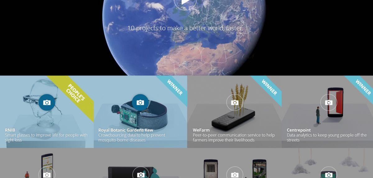 Google Impact Challenge winners 2014