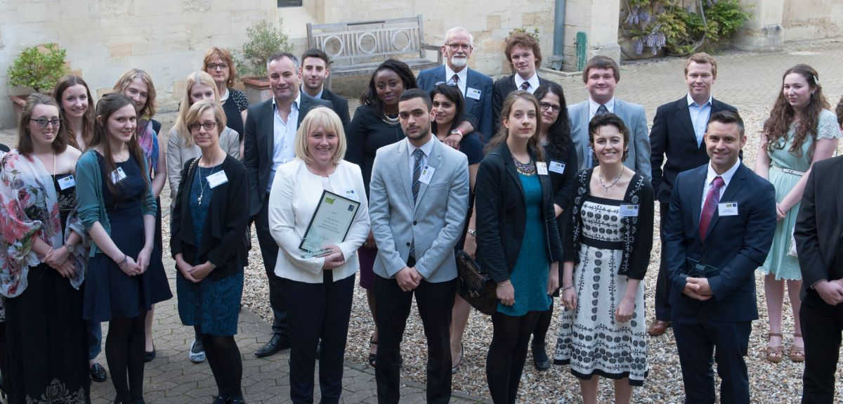 Twelve teachers were honoured for their role in supporting Oxford students.