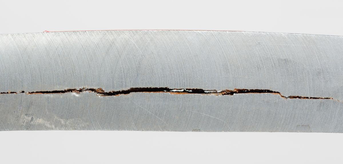 Embrittled steel