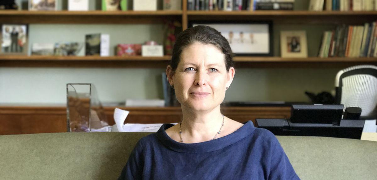 Former senior police officer Helen King shares vision for St Anne's
