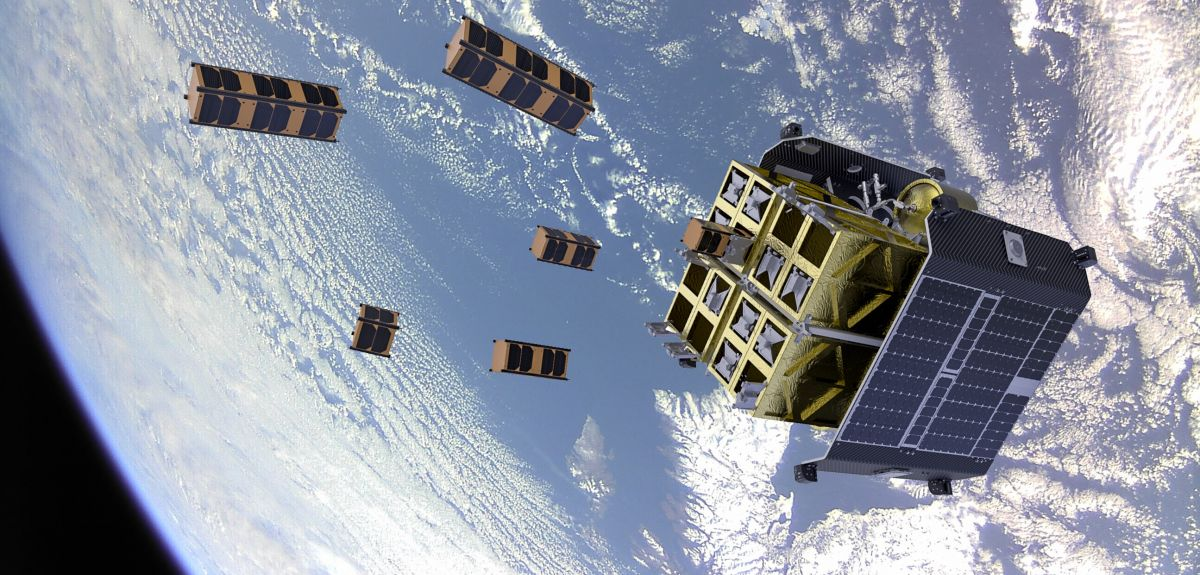 ION Satellite Carrier over Scotland (D-Sense picture)
