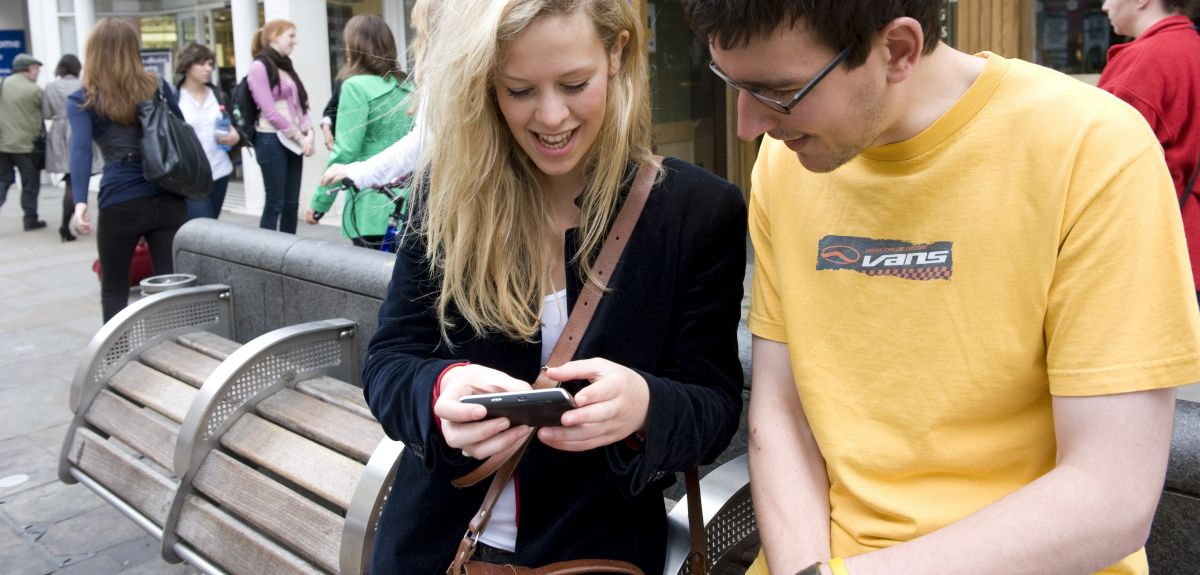 Know Your Oxford uses smartphone navigation to guide newcomers around Oxford