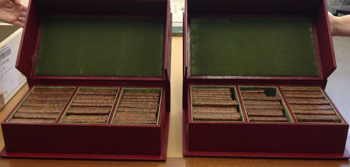 Charles I's travelling library