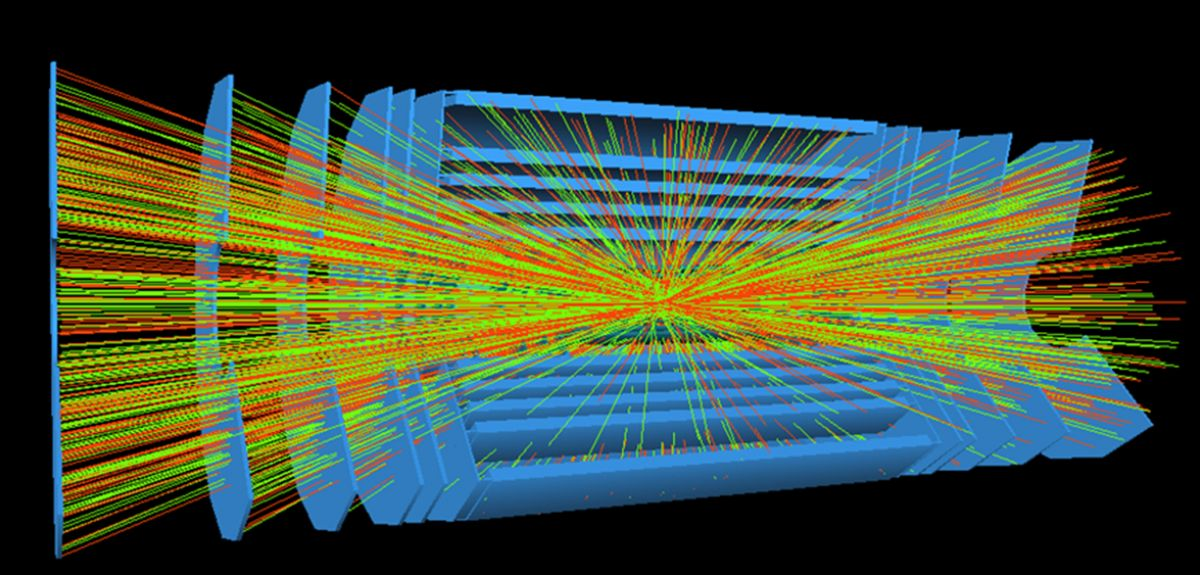 LHC collisions