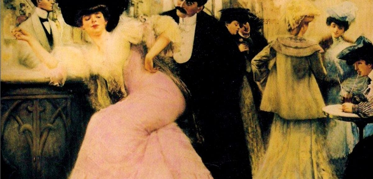 Le bar de Maxim's by Pierre-Victor Galland
