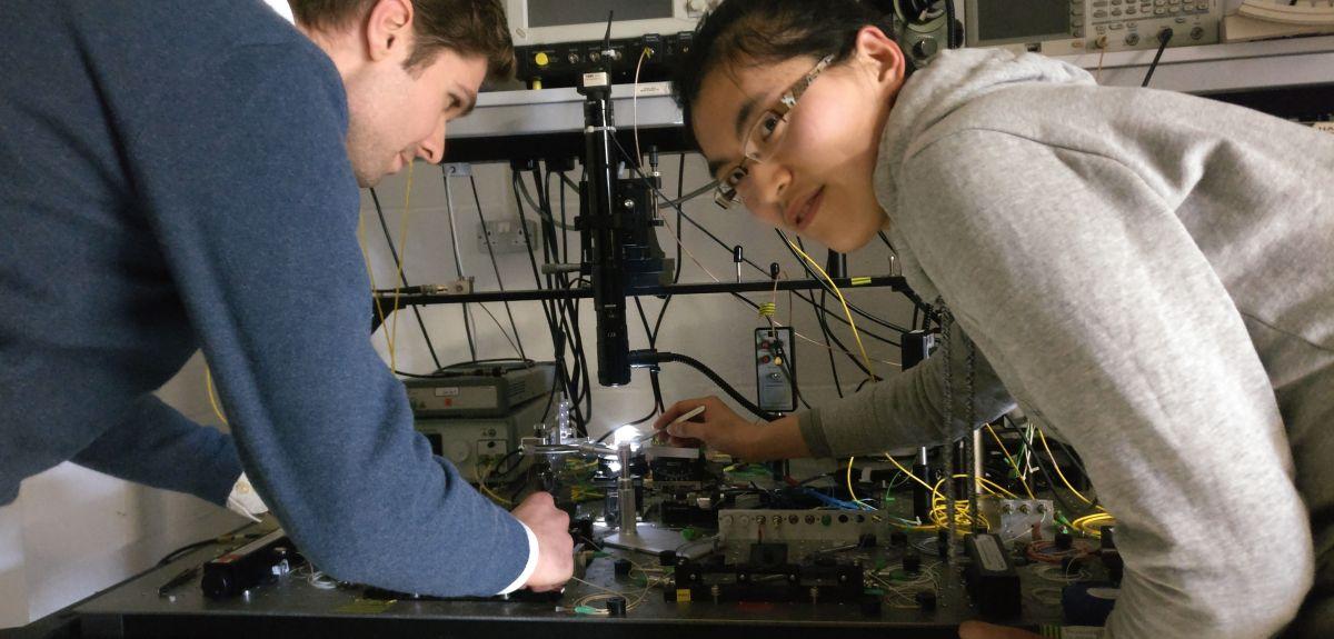 Optica research team