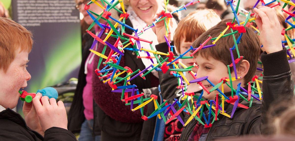 Children at OxSciFest