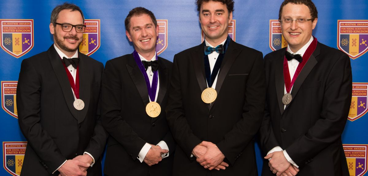 Oxford Blavatnik award winners