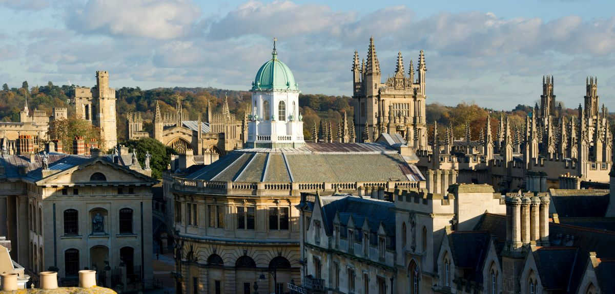 Oxford skyline