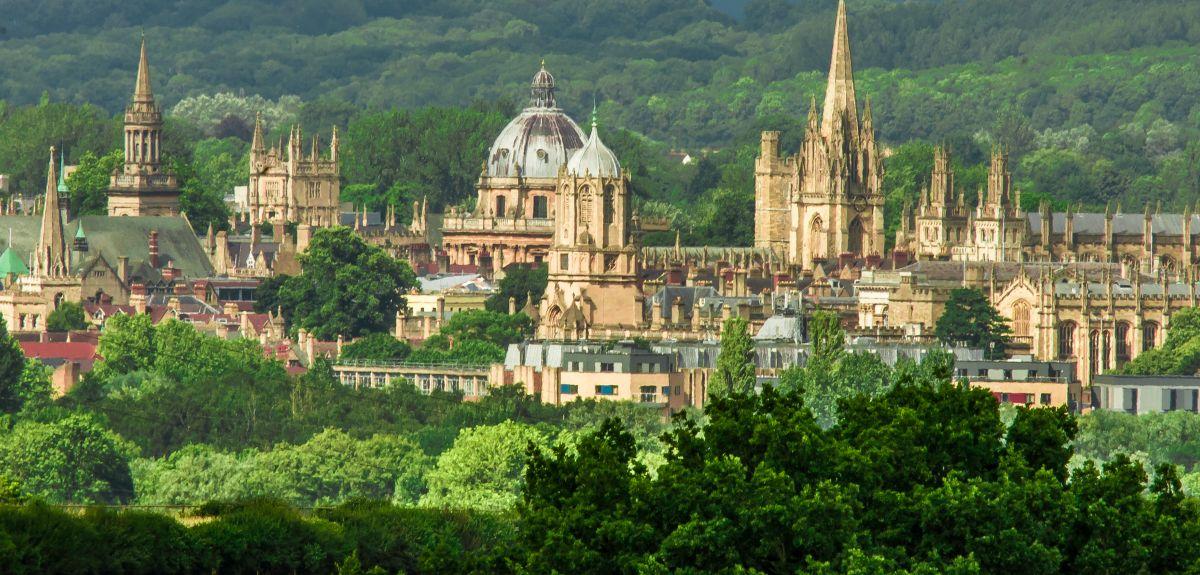 Oxford University Skyline