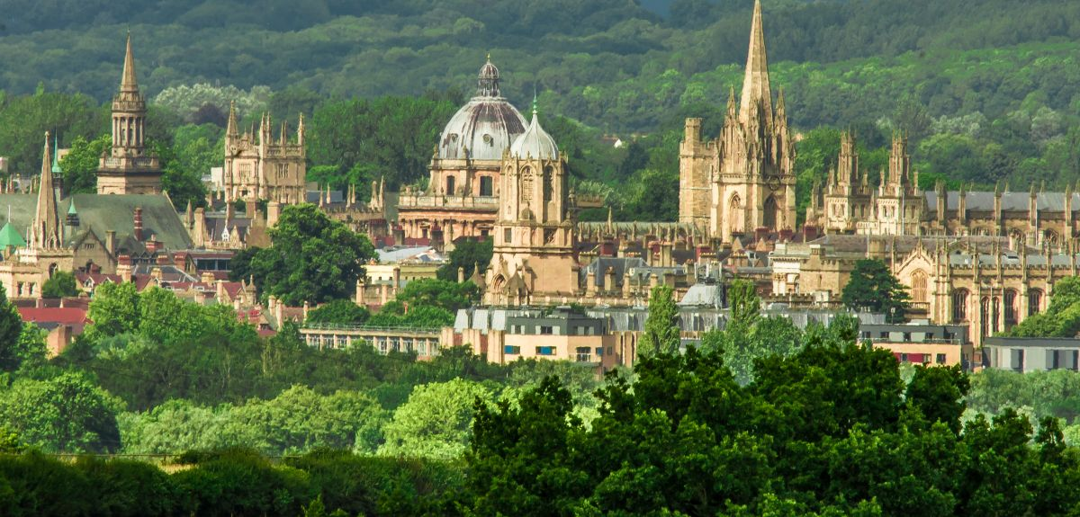 Oxford University skyline