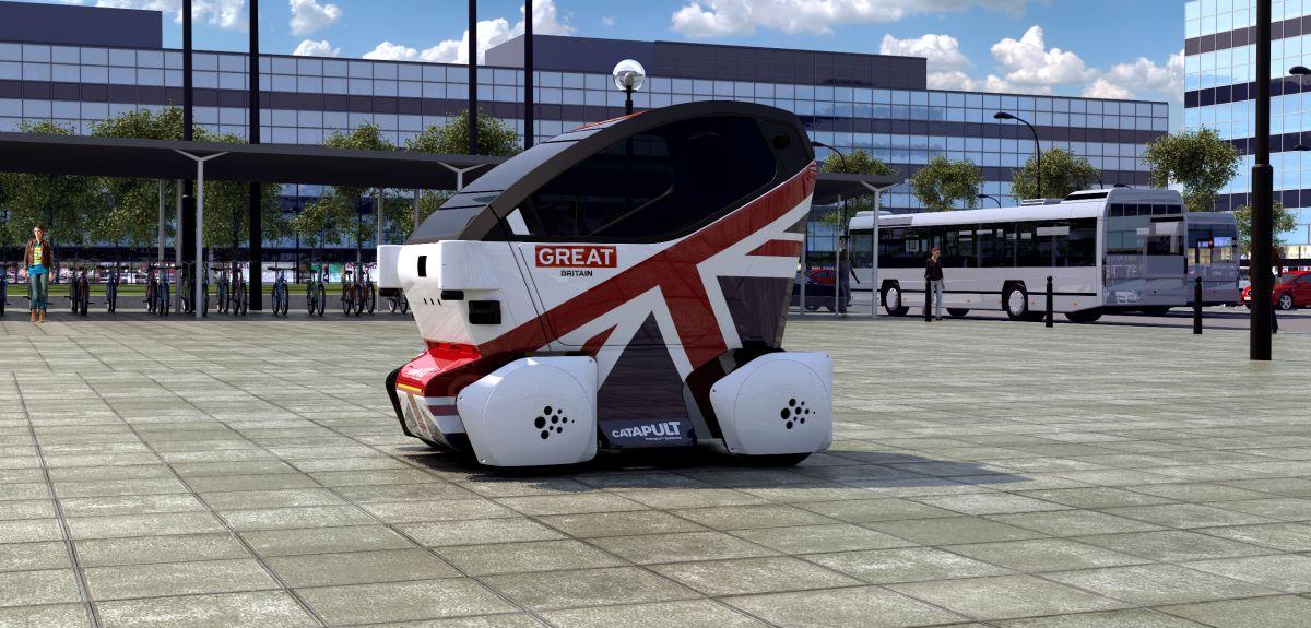 Image of the prototype LUTZ pod