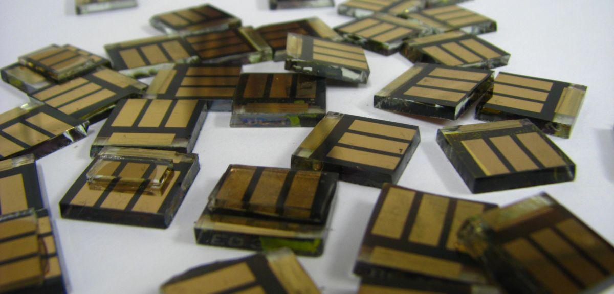 Tin halide perovskite solar cells
