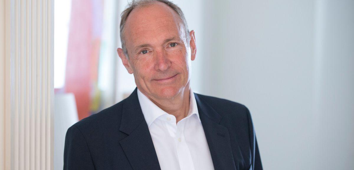 Professor Sir Tim Berners-Lee. Credit: Henry Thomas