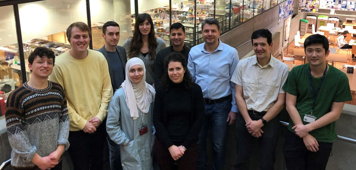 Professor Kristijan Ramadan and team at the department of oncology